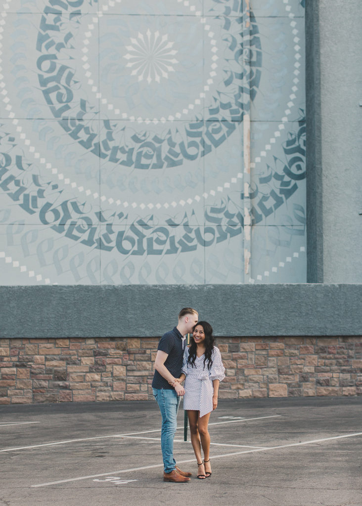 LV engagement session photographed by Taylor Made Photography