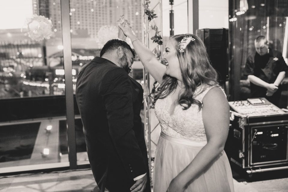 wedding dance at Hard Rock Cafe photographed by Taylor Made Photography