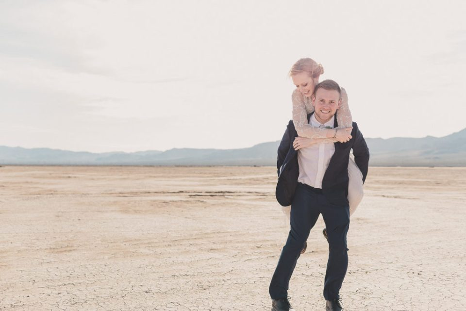 Nevada elopement portraits with Taylor Made Photography