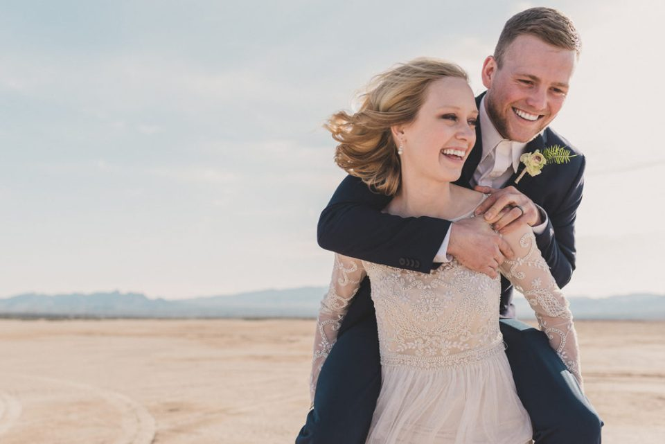 Taylor Made Photography captures happy couple celebrating elopement