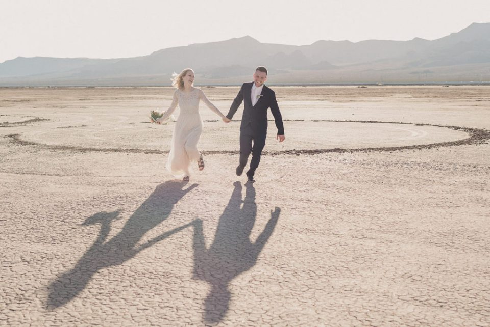 Boulder City NV elopement portraits by Taylor Made Photography