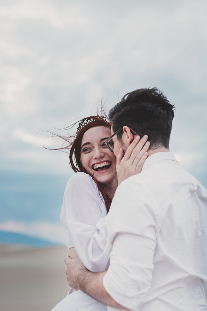 joyful elopement photographed by Taylor Made Photography