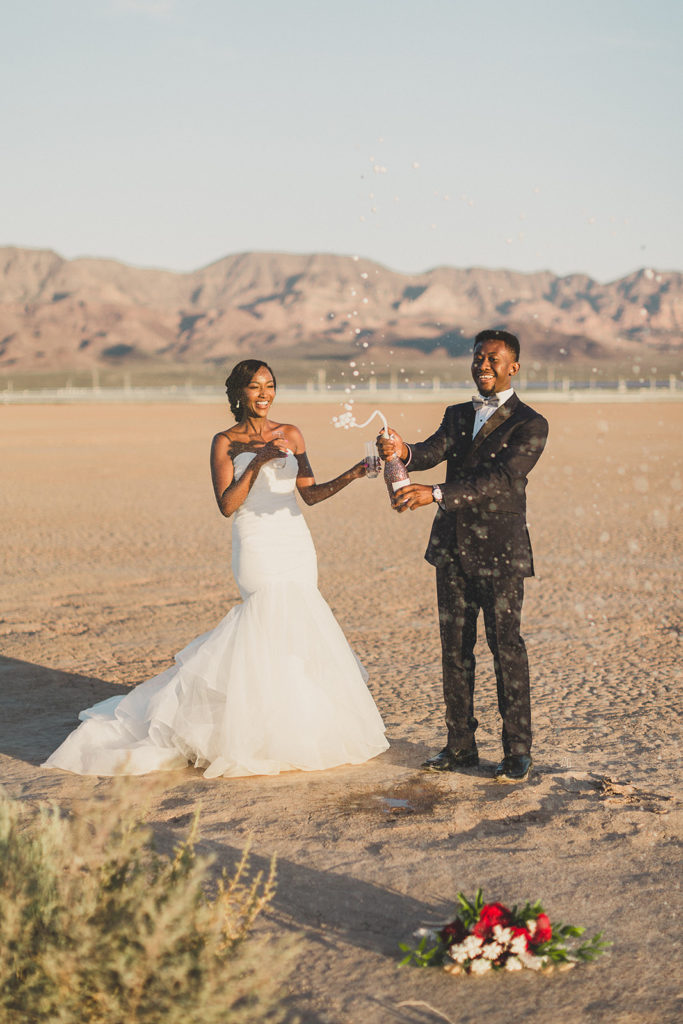 champagne celebration after elopement photographed by Taylor Made Photography