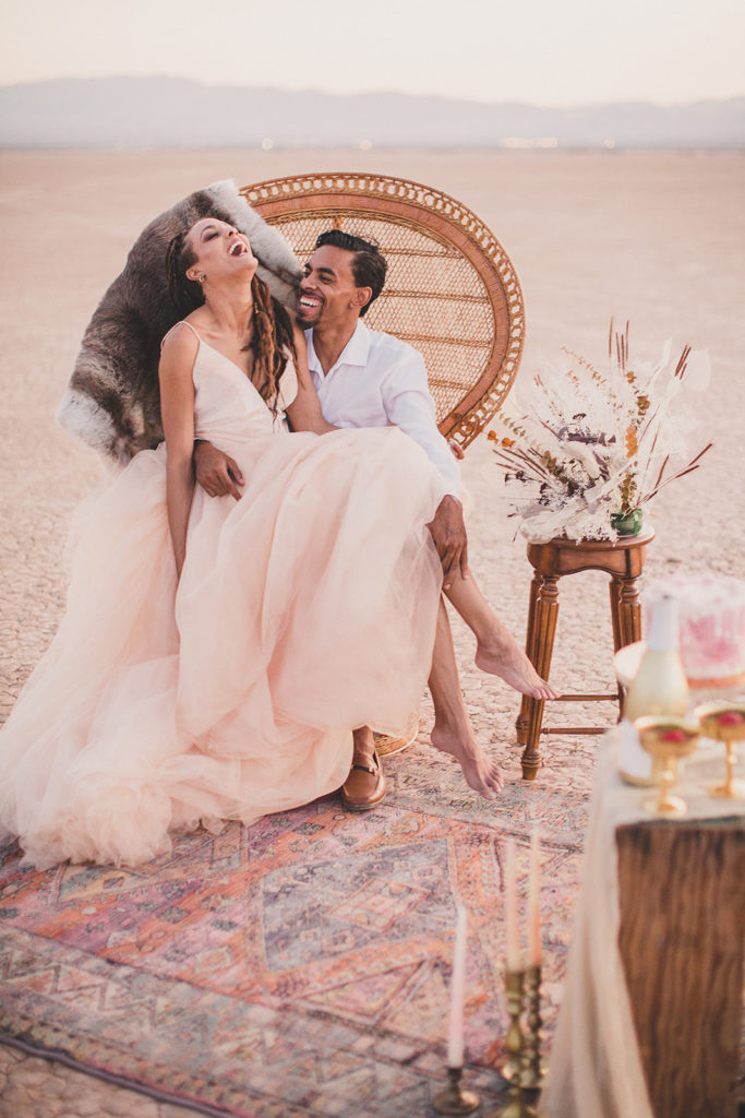 styled elopement portraits with Taylor Made Photography