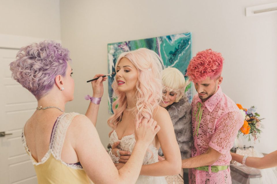 Taylor Made Photography captures bride preparing for wedding day