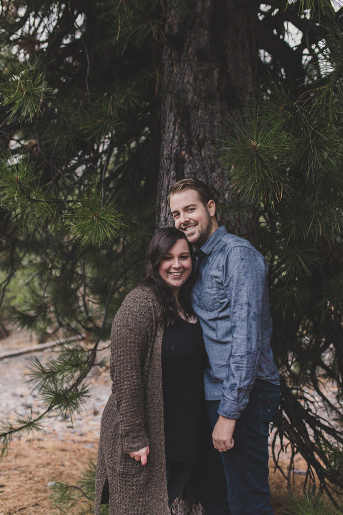 Mt. Charleston engagement session with Taylor Made Photography