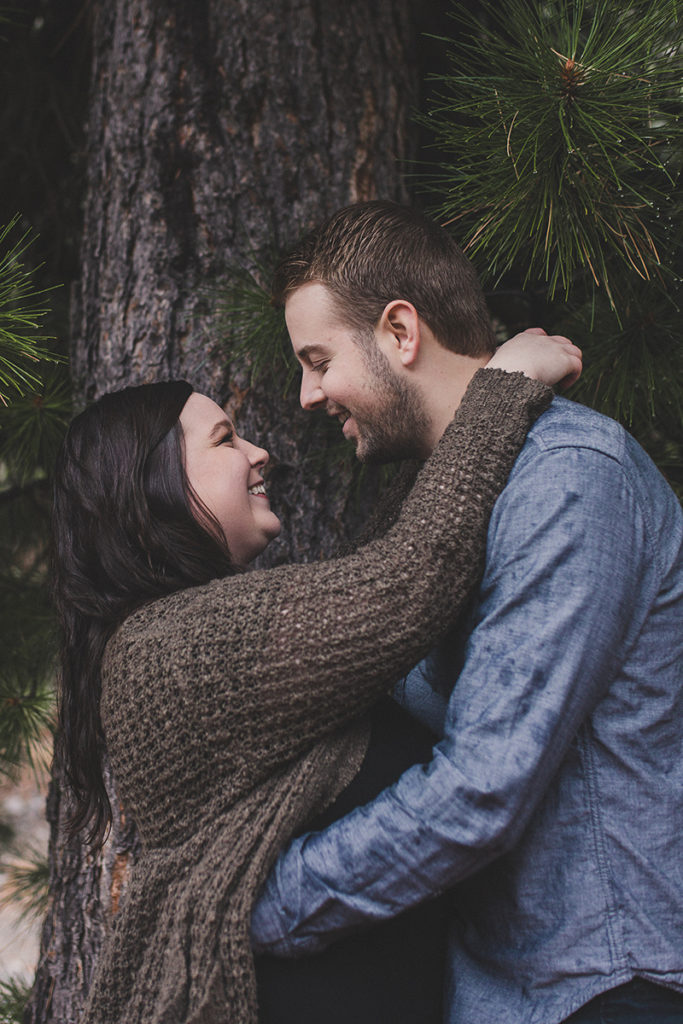 Taylor Made Photography photographs Nevada couple during engagement session