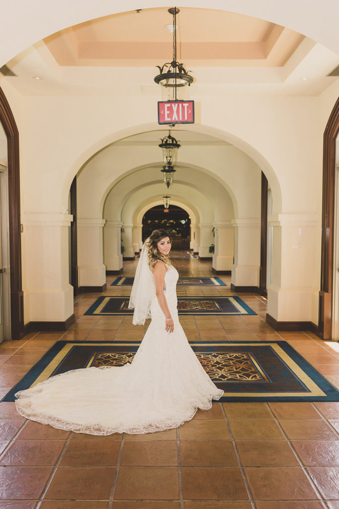 bride prepares for wedding at St. Joseph Husband of Mary Catholic Church