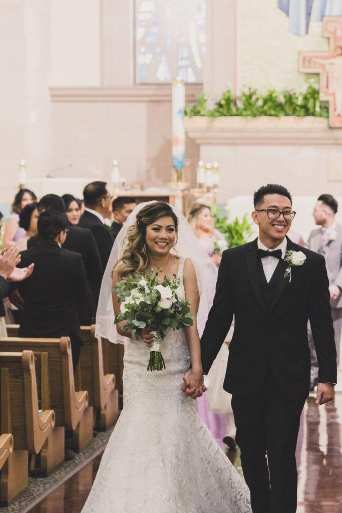 Taylor Made Photography captures traditional Catholic wedding at St. Joseph Husband of Mary Catholic Church