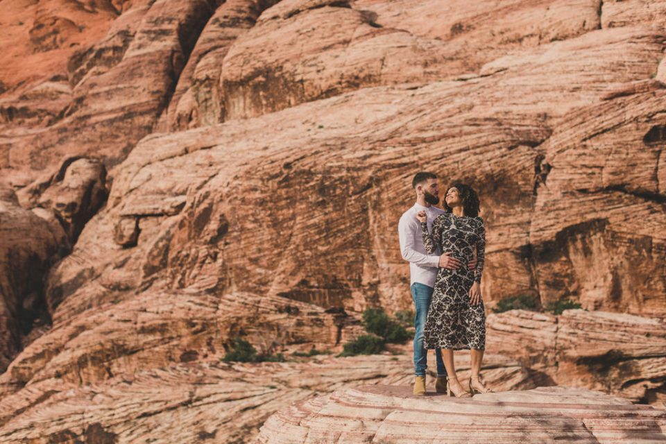 Taylor Made Photography captures bride and groom-to-be in Las Vegas