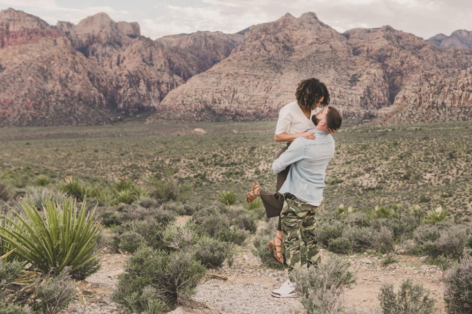 romantic engagement session with Taylor Made Photography