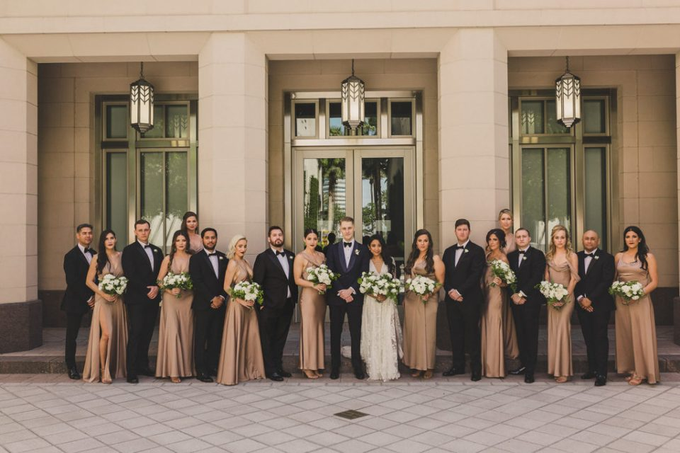 Taylor Made Photography captures Las Vegas wedding party