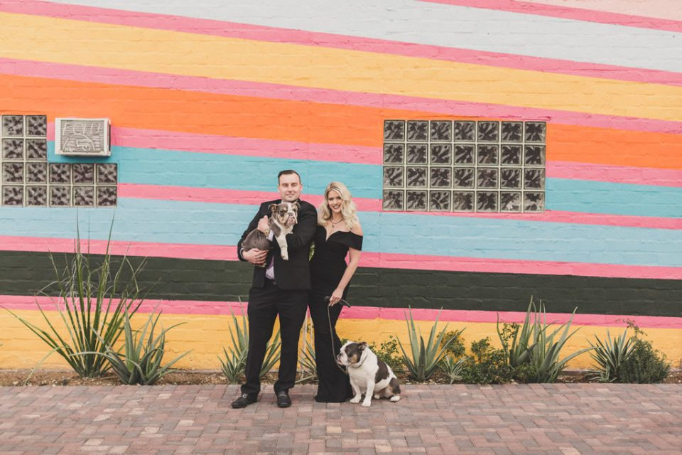 family portraits with dogs at Arts Factory by Taylor Made Photography