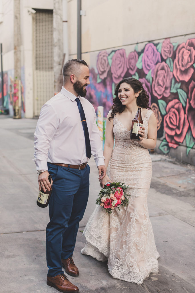 elopement portraits in Las Vegas photographed by Taylor Made Photography