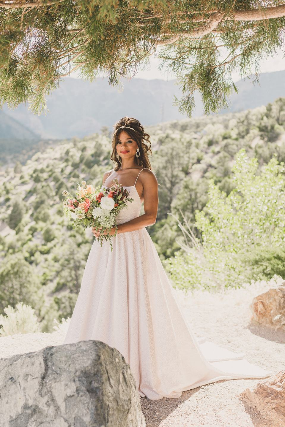 Las Vegas elopement style photographed by Taylor Made Photography