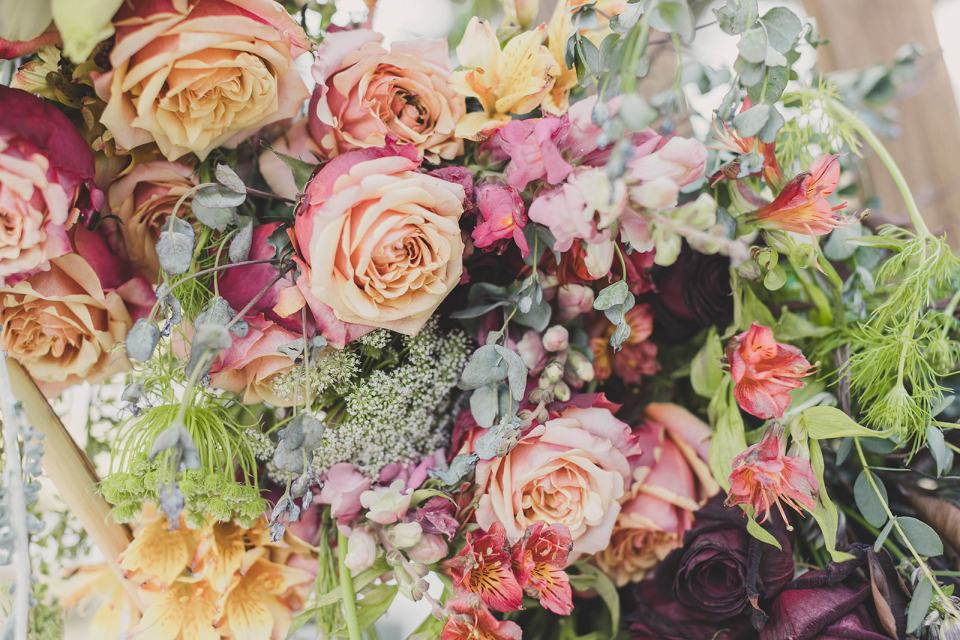 bridal bouquet by Blooming Belles in Las Vegas photographed by Taylor Made Photography