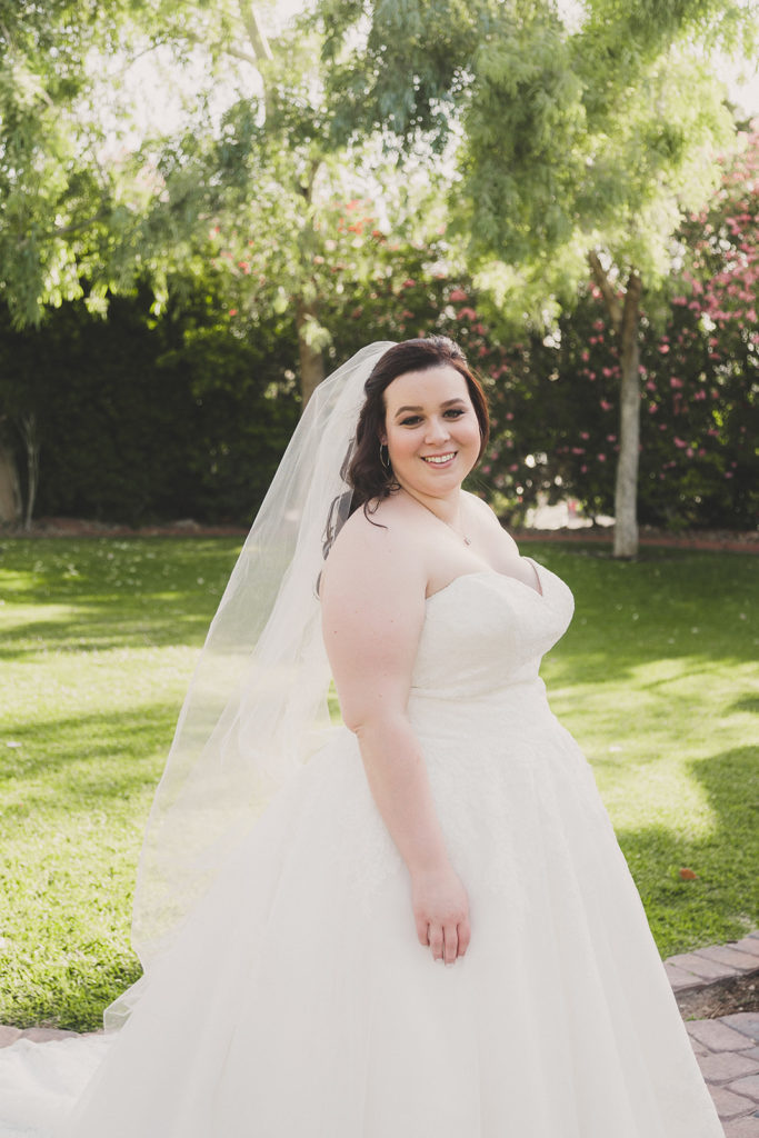 Las Vegas bridal portrait by Taylor Made Photography