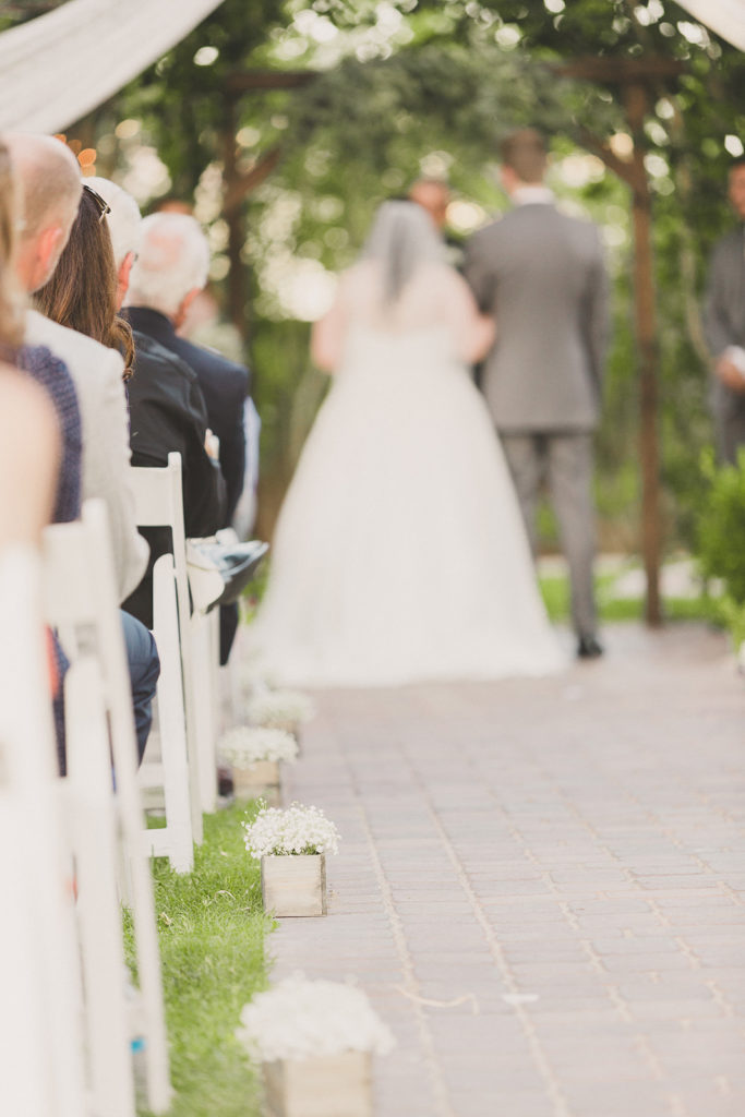wedding ceremony details at the Grove photographed by Taylor Made Photography