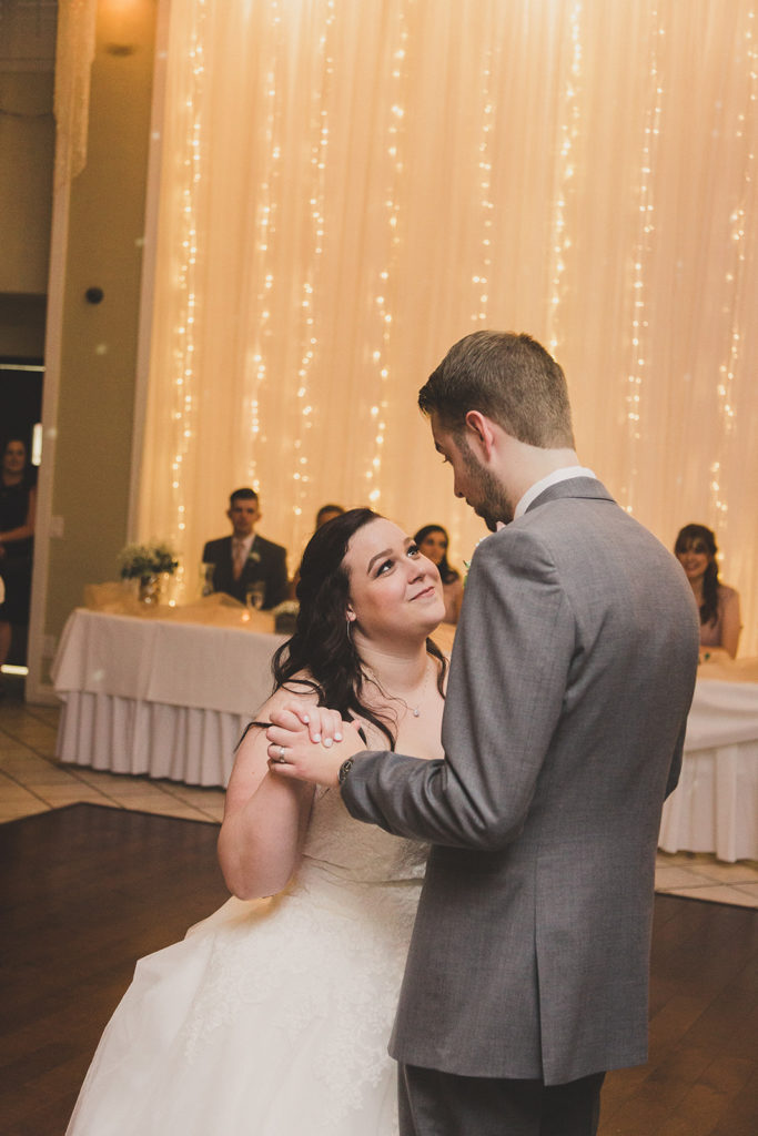 first dance at the Grove photographed by Taylor Made Photography
