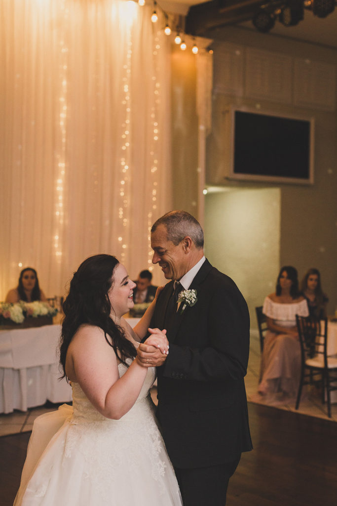 father-daughter dance at the Grove photographed by  Taylor Made Photography