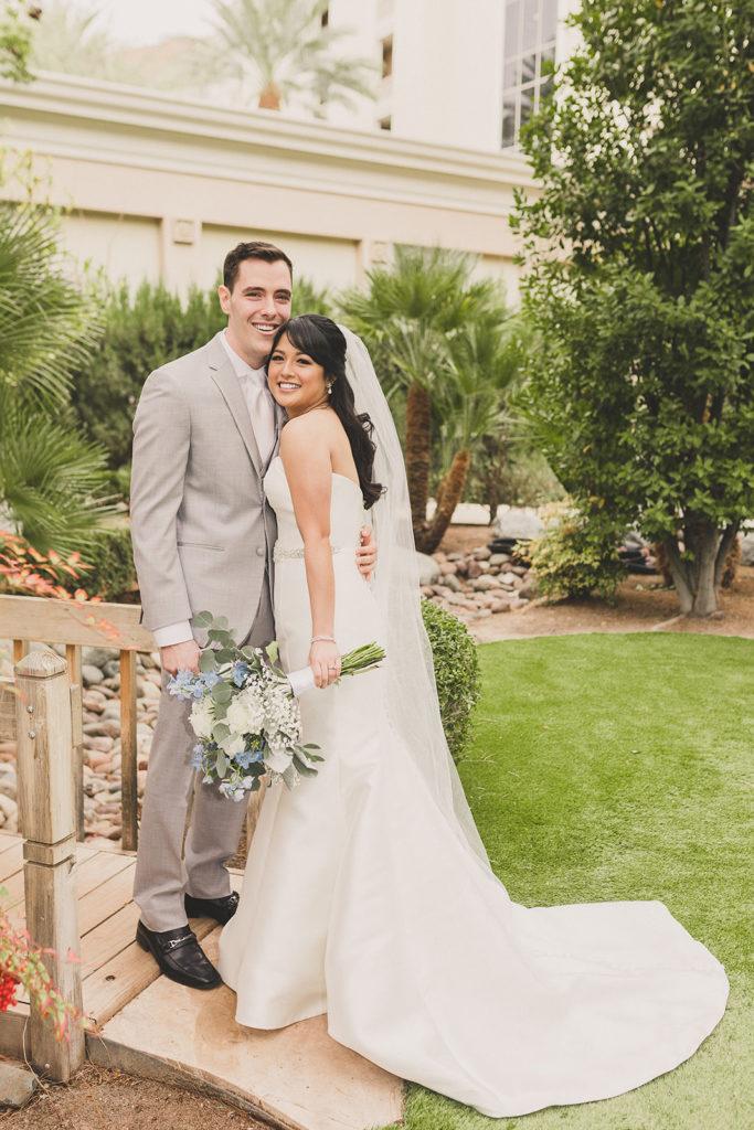 JW Marriott Las Vegas wedding portraits by Taylor Made Photography