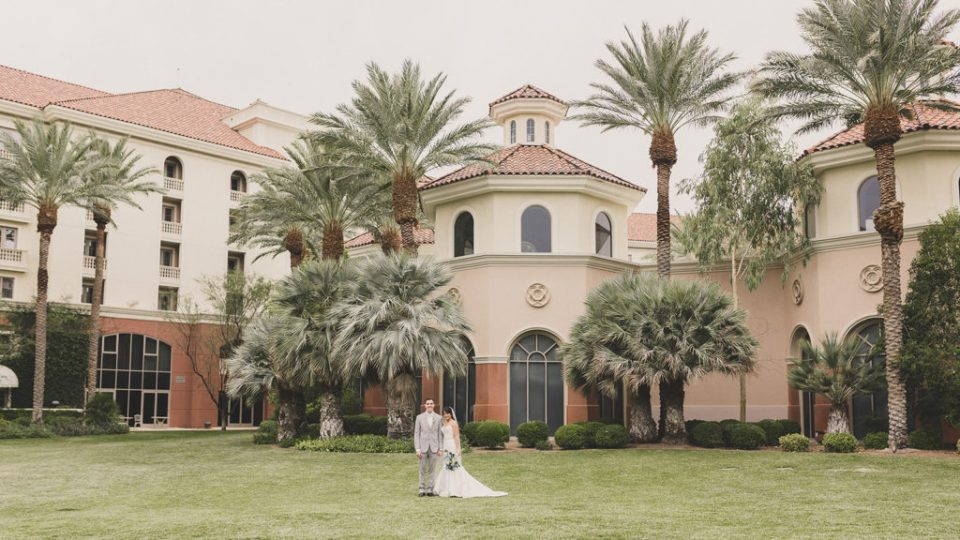 JW Marriott Las Vegas wedding day photographed by Taylor Made Photography