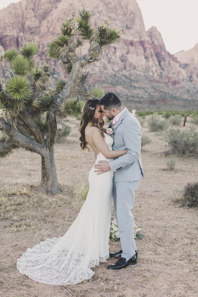 Las Vegas elopement photographed by Taylor Made Photography