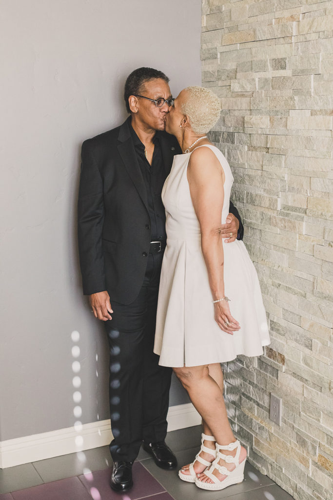 portraits of couple married for 30 years in Las Vegas