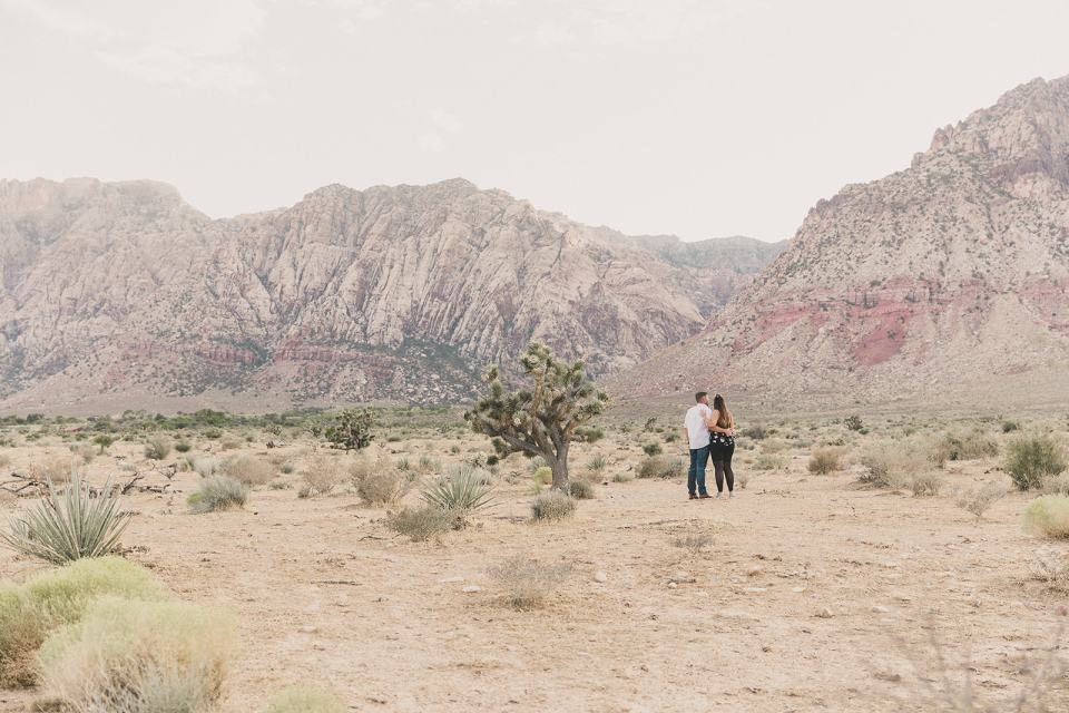 Las Vegas proposal photographed by Taylor Made Photography