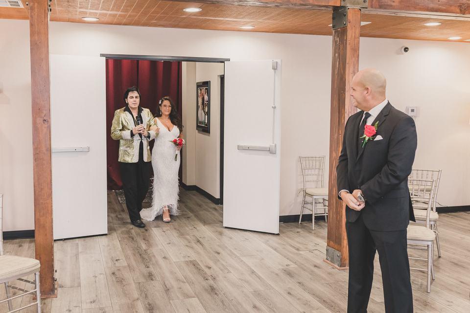 Las Vegas wedding in chapel