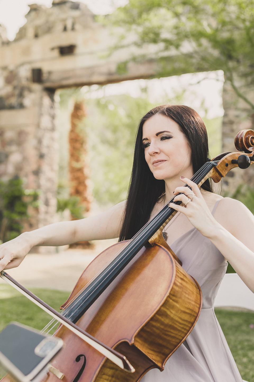 cellist from Premiere Wedding Music