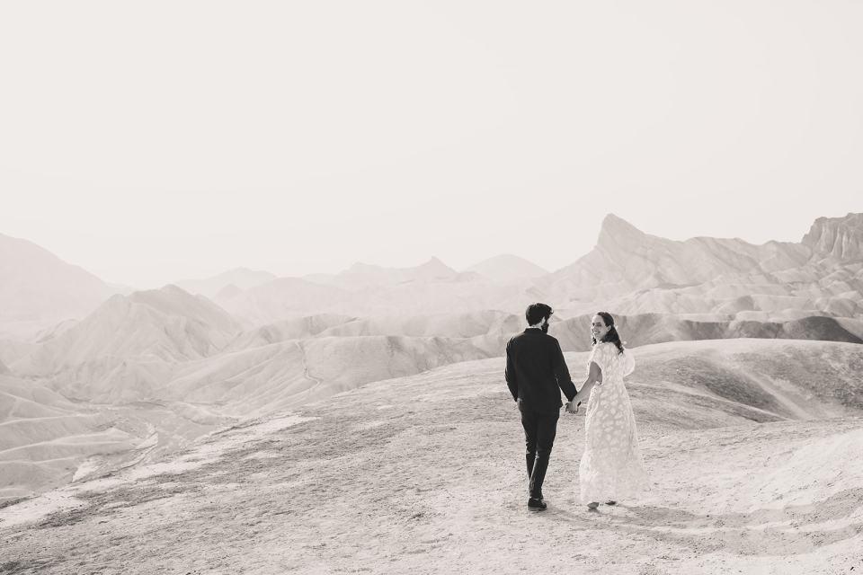 Zabriskie Point wedding portraits