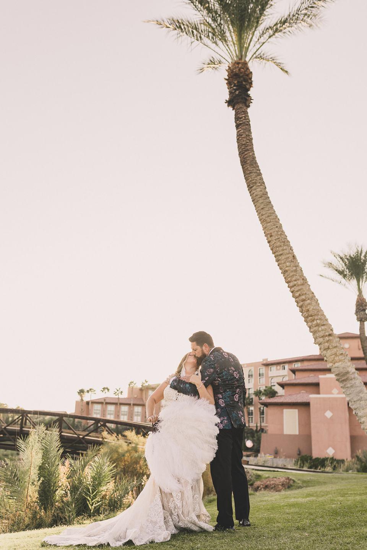 The Westin Lake Las Vegas wedding portraits