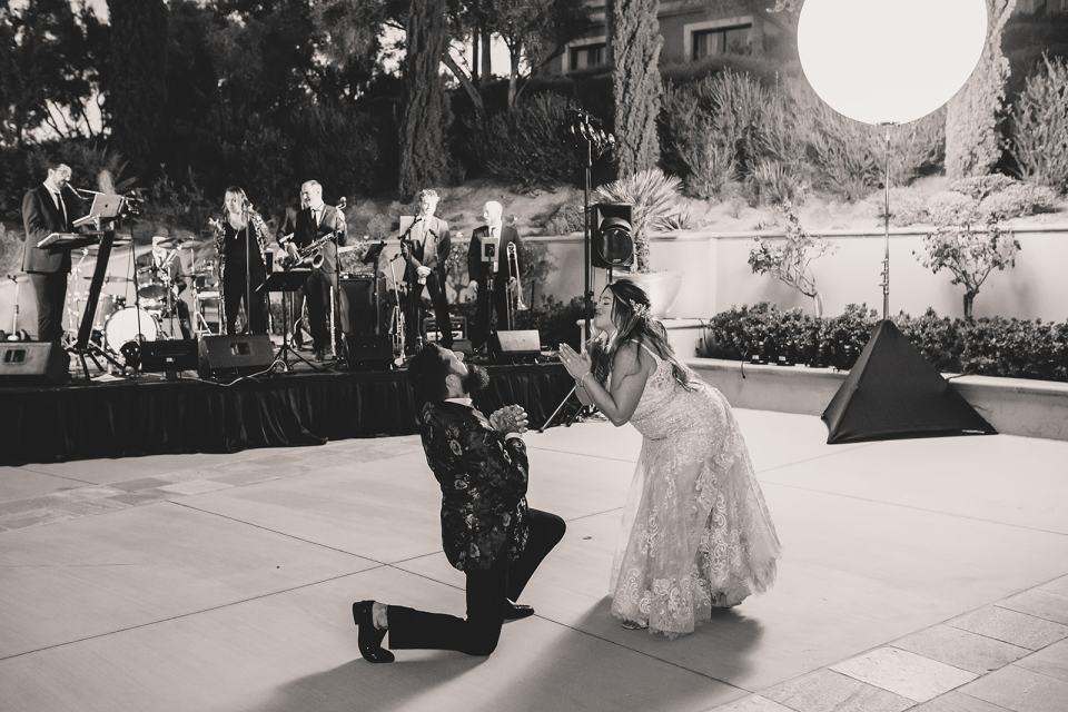 bride and groom dance in Las Vegas