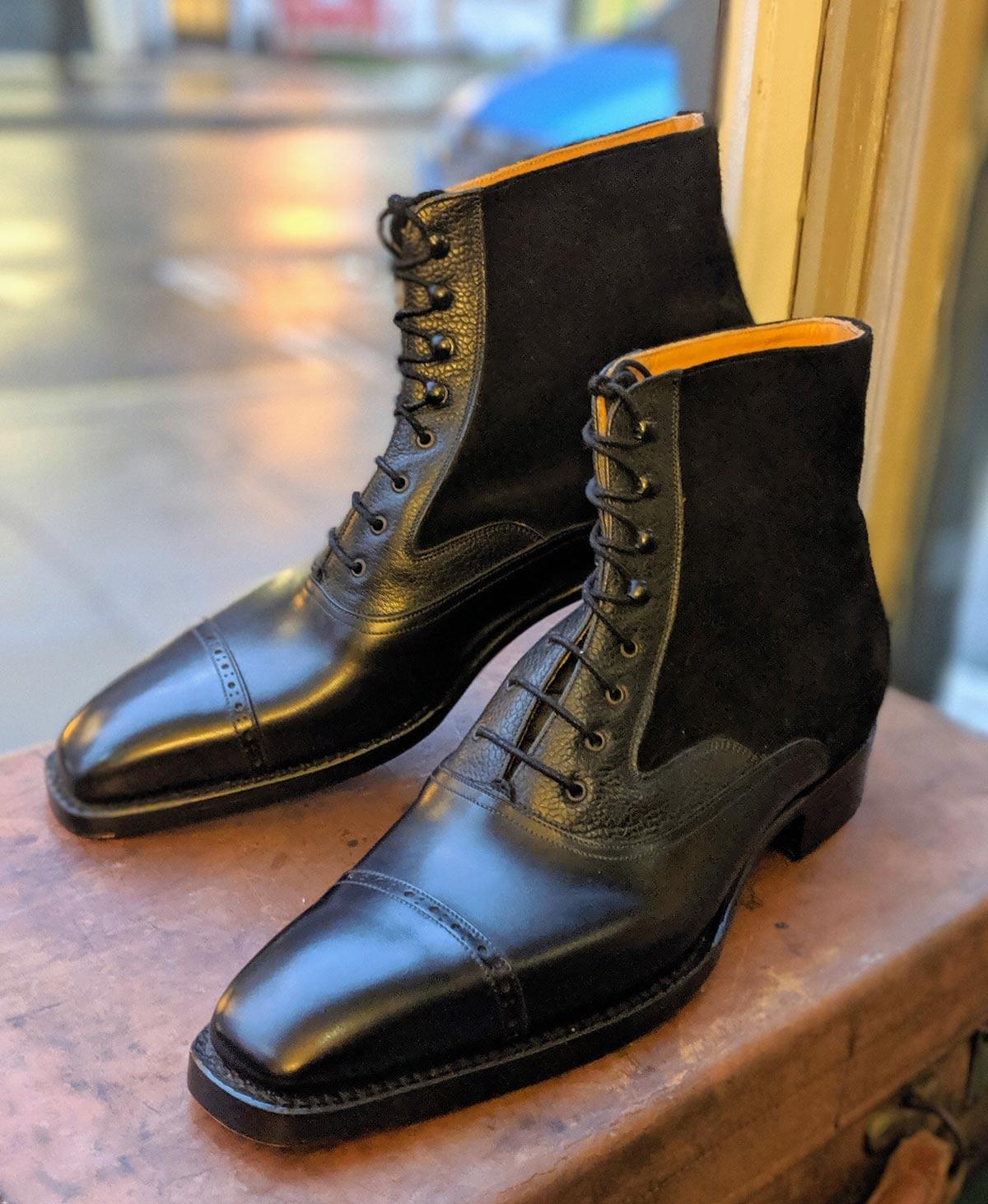 Vass Oxford tall boots