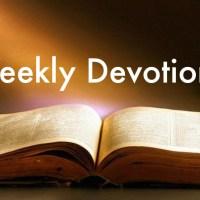Devotional - Luke 1.78-79