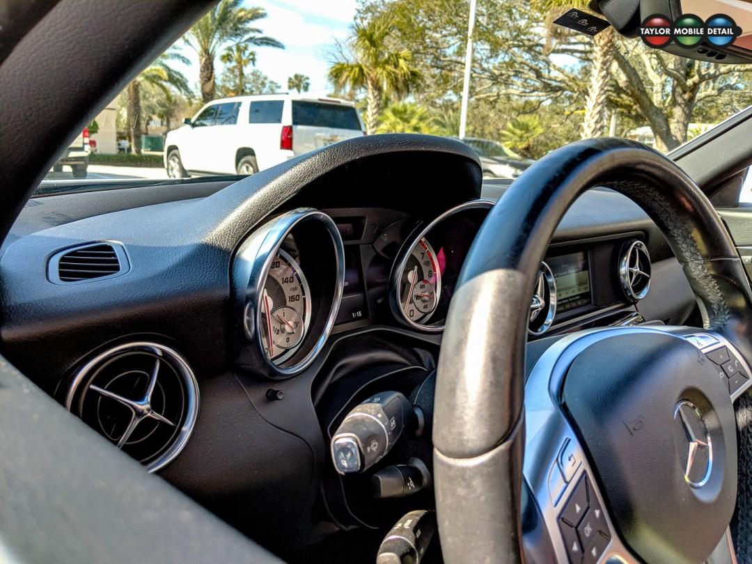 Taylor Mobile Detail Mercedes SLK 250 5 Jacksonville FL