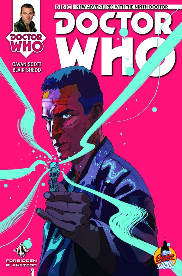 Doctor Who The Ninth Doctor issue #1 LSCC exclusive cover Cjpg