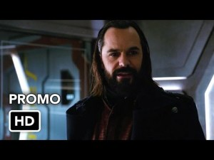 """""""LEGENDS OF TOMORROW"""" PROMO FOR """"RIVER OF TIME"""""""
