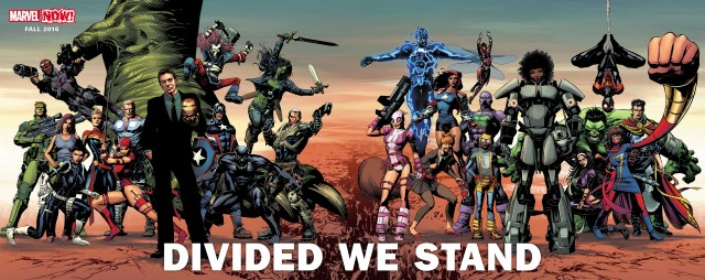 MarvelNow Divided we stand
