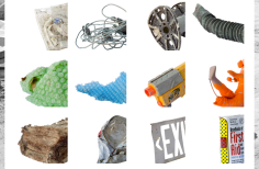 100 Found Objects