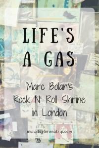 Marc Bolan London