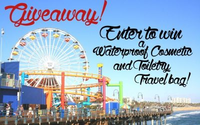 Giveaway! Waterproof Cosmetic/Toiletry Travel bag