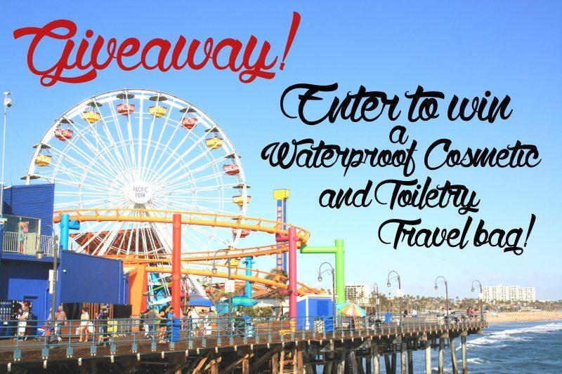 Giveaway! Waterproof Cosmetic/Toiletry Travel bag