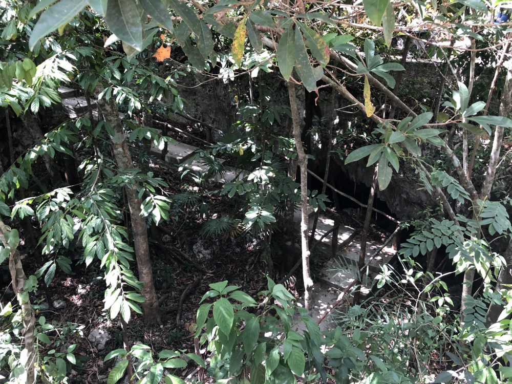 caving-stalactites-playa-del-carmen