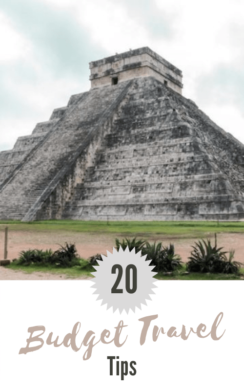 Budget Travel Tips Pinterest Pin