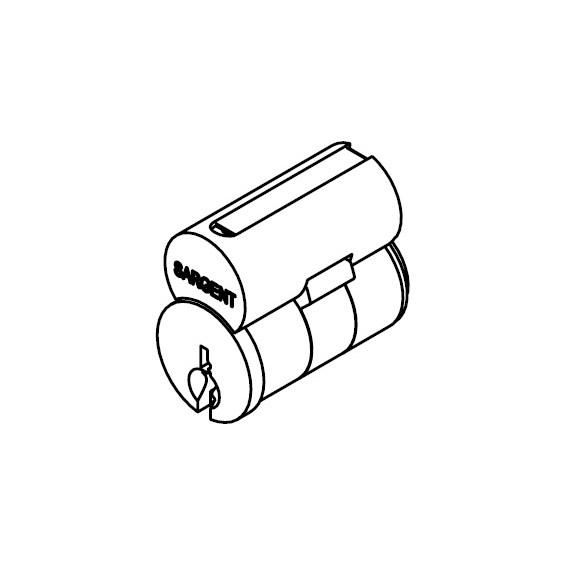 Sargent 6300-LA-6300LA Removable Core IC Core Cylinder