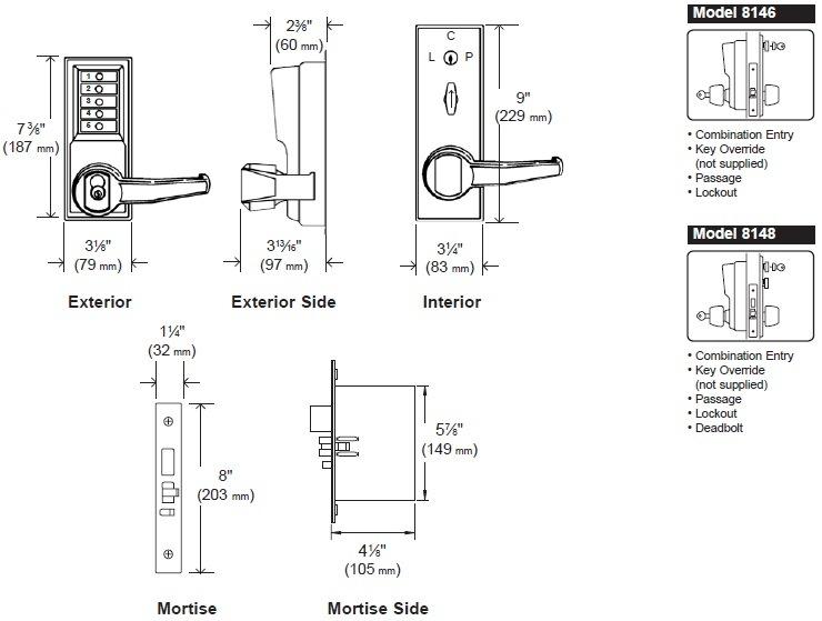 Simplex 8100 Series 8146B-8146C-8146M-8146R-8146S-8148B
