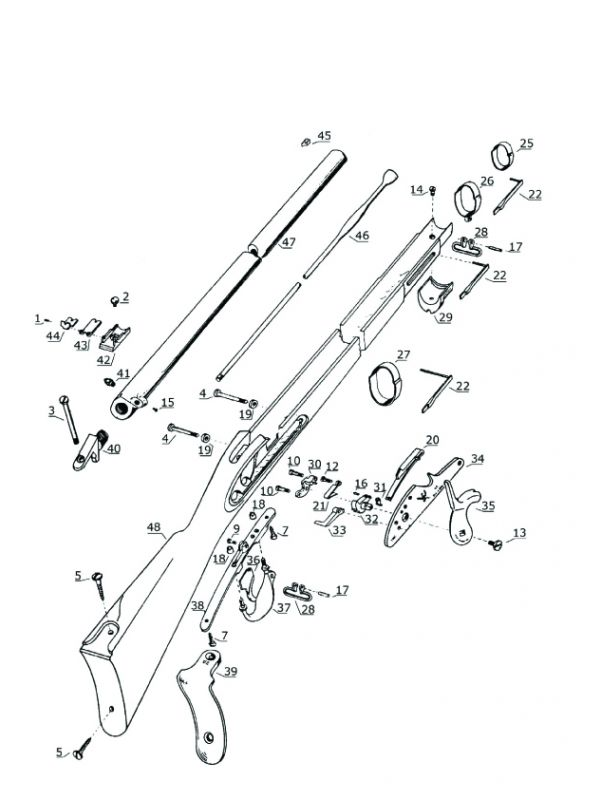 Chiappa 1861 Springfield Musket Parts