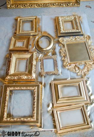 Gold Vintage Frames